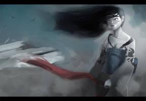 Yuki-Onna by morganagod