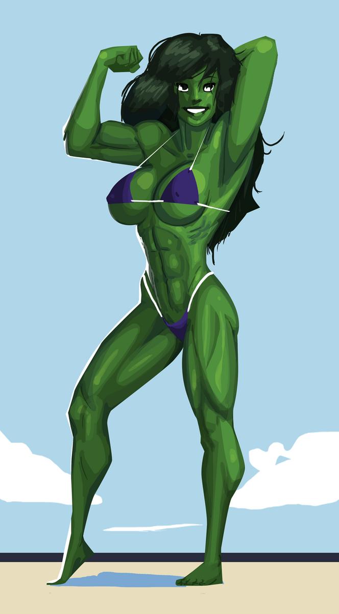 She hulk naked