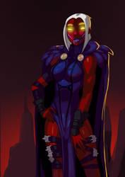 120313 Injustice Raven by morganagod