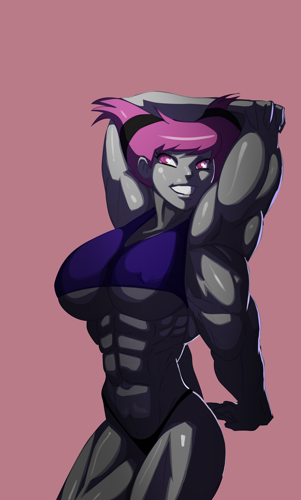 Four Armed Muscle Jinx by morganagod