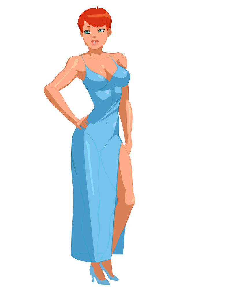 Sam Dress by morganagod