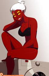 Bonus - Demon Raven's Laundry Day by morganagod