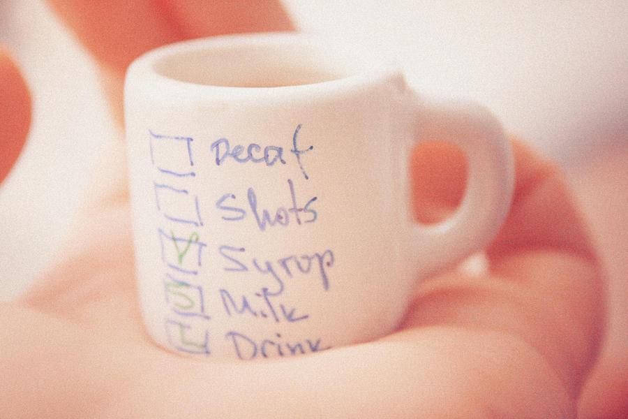 tiny cup of coffee II