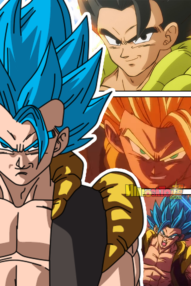 Gogeta Dragon Ball Super Broly 2018 By Hinasatosuper On Deviantart
