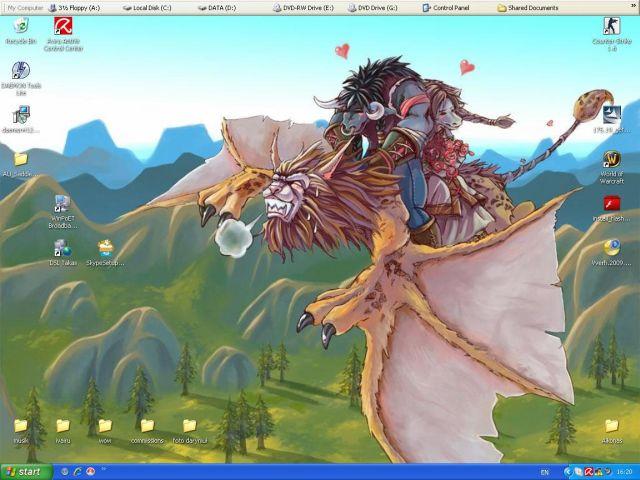 wow...new desktop XD by DrunkenUnicorn