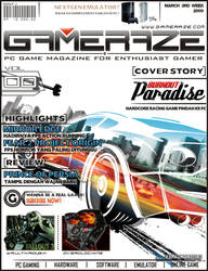 GAMERAZE Magazine Cover