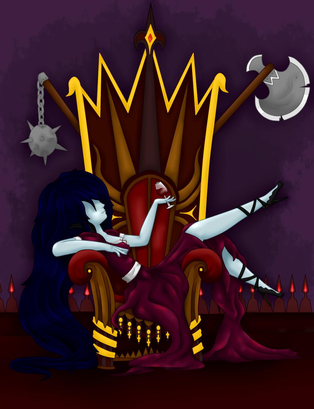 La reina soy yo by Pandi-Mar