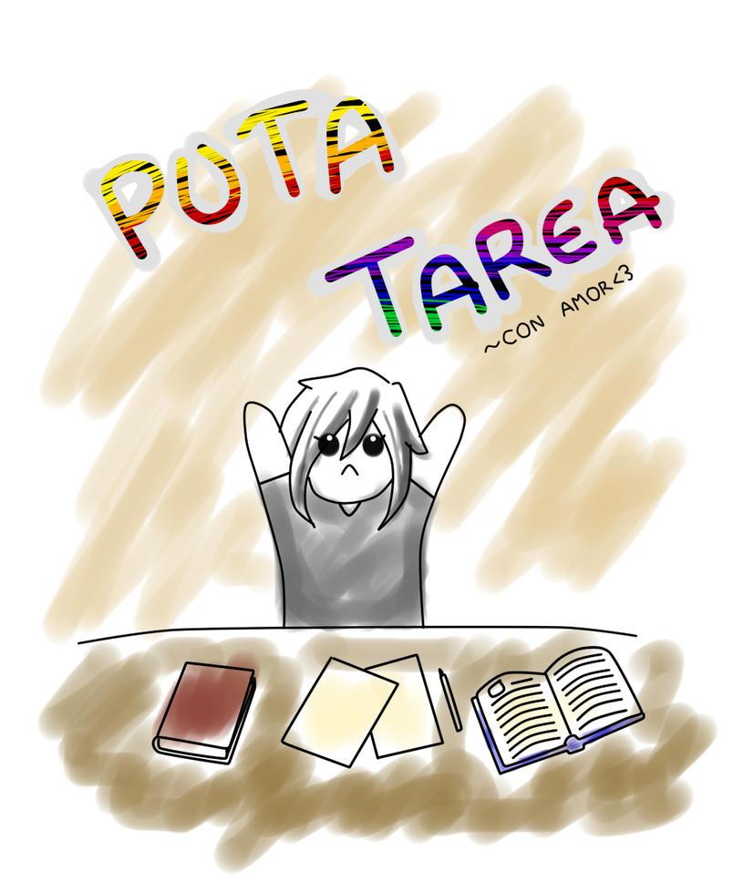PUTA TAREA...con amor by Pandi-Mar