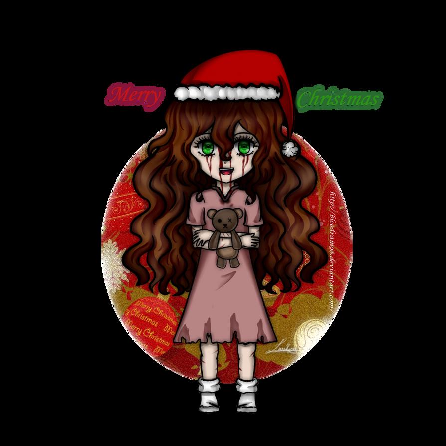 Creepypasta Christmas- Sally by BloodRain98 on DeviantArt