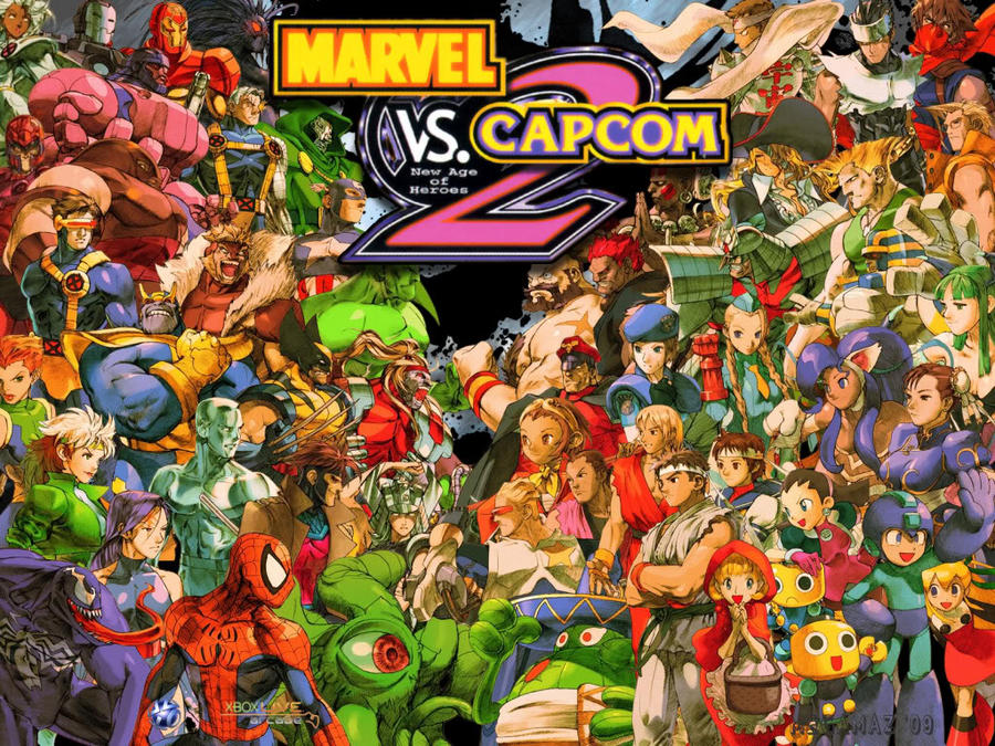 Marvel Vs. Capcom 2 Wallpaper by greenman254