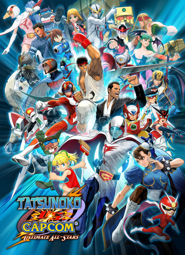 Tatsunoko Vs. Capcom UAS Poster by greenman254