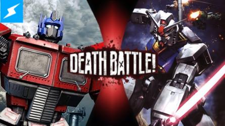 Optimus Prime VS RX-78-2 Gundam by greenman254