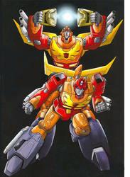 Arise, Rodimus Prime! by greenman254