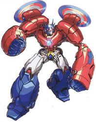 Transtech - Optimus Prime by greenman254