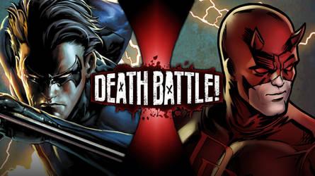 Nightwing Vs. Daredevil by greenman254