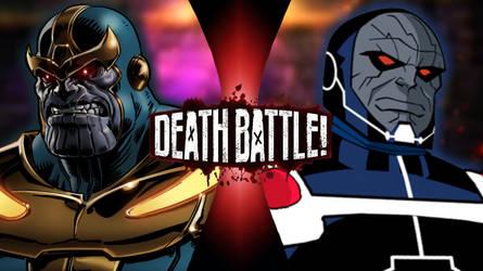 Thanos Vs. Darkseid by greenman254