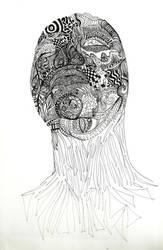 Lined Portrait WIP
