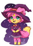 Flora the little witch