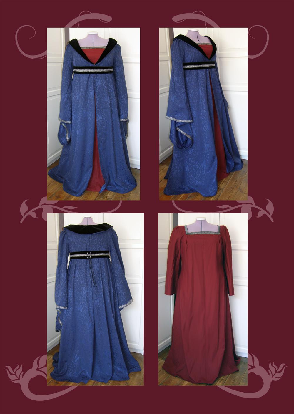 Flared Gown by Gewandfantasien