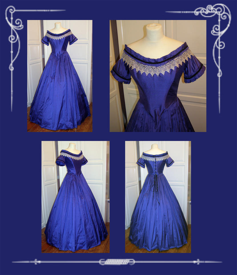 Civil War Evening Gown by AFahrbach