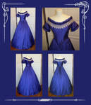 Civil War Evening Gown