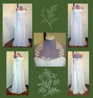 Elven Bride Gown by Gewandfantasien