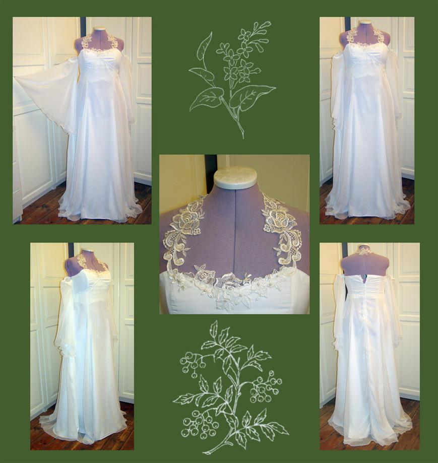 Elven Wedding Dress: Elven Bride Gown By Gewandfantasien On DeviantArt