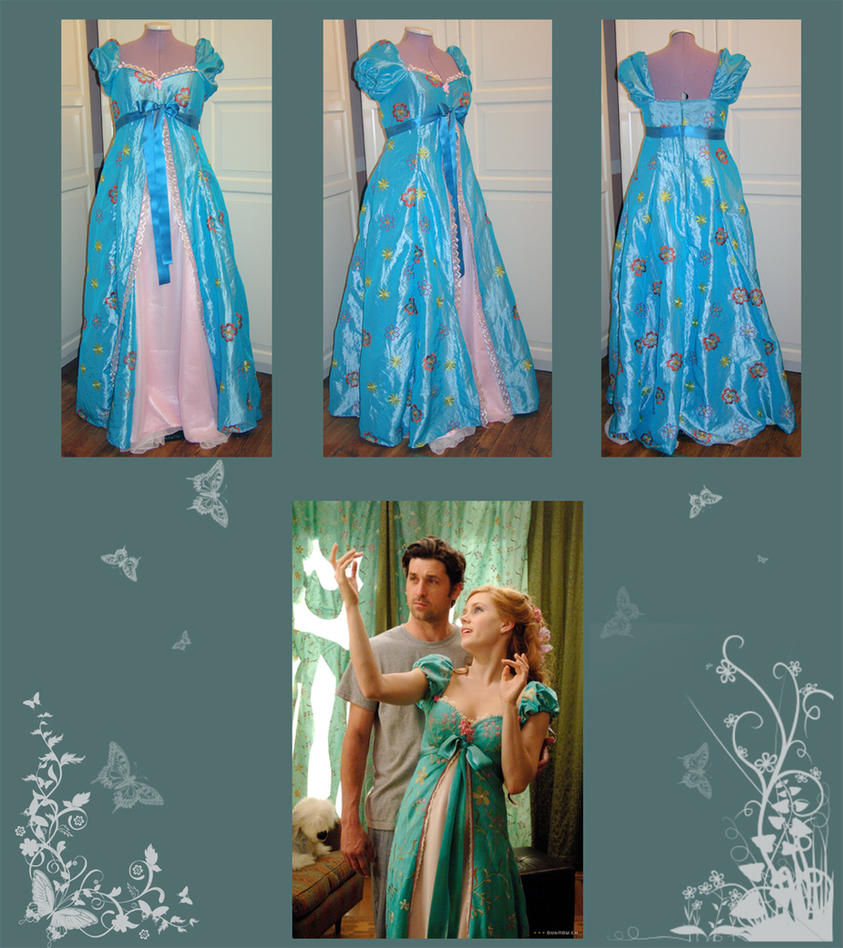 Enchanted Curtain Dress By Gewandfantasien On Deviantart