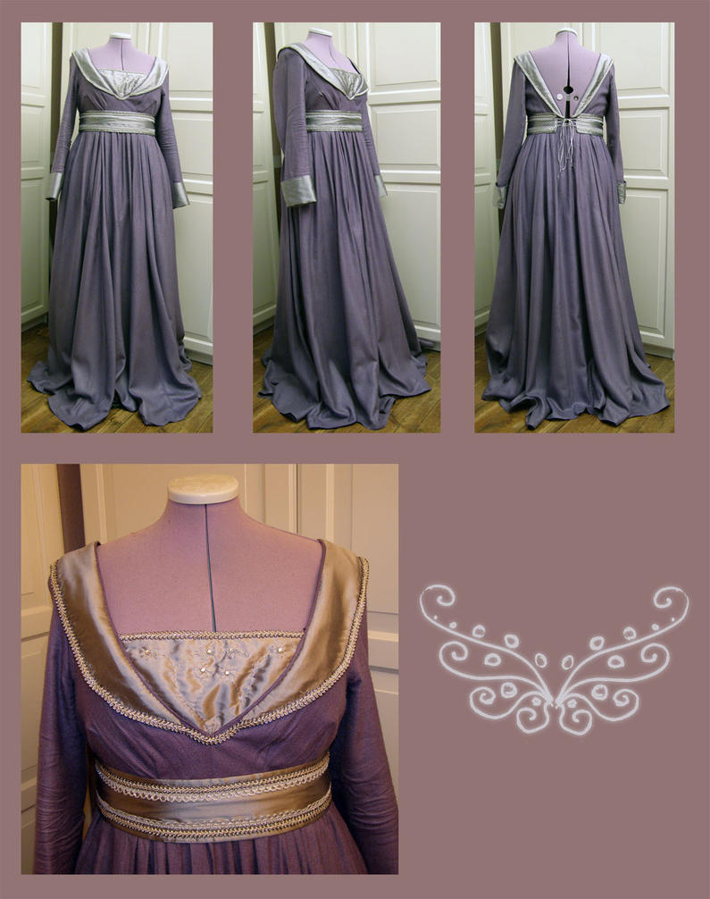 Pseudo-Burgund Gown by AFahrbach