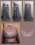 Pseudo-Burgund Gown