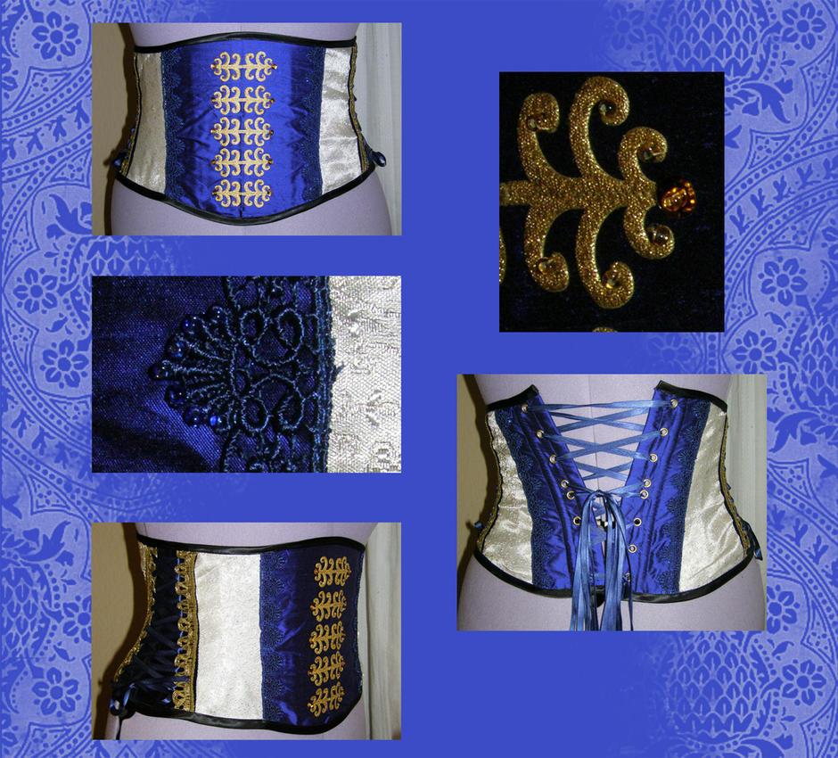 underbust corset by Gewandfantasien