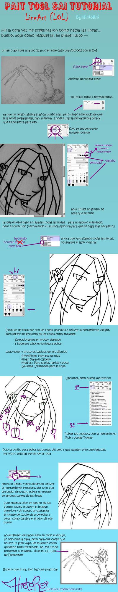 SAI Tutorial lines ESP by hielorei