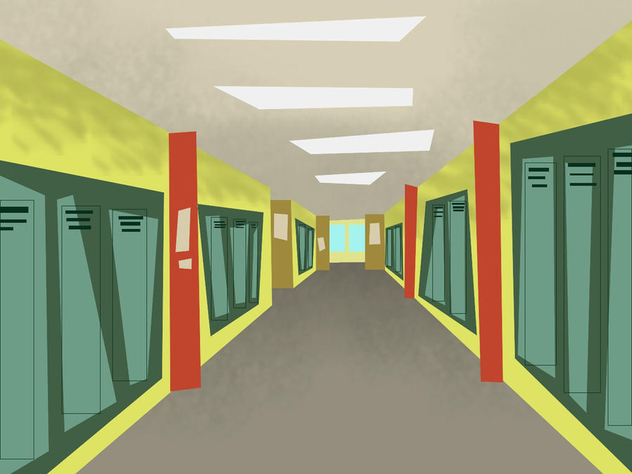 Total Drama School Background by hielorei on DeviantArt