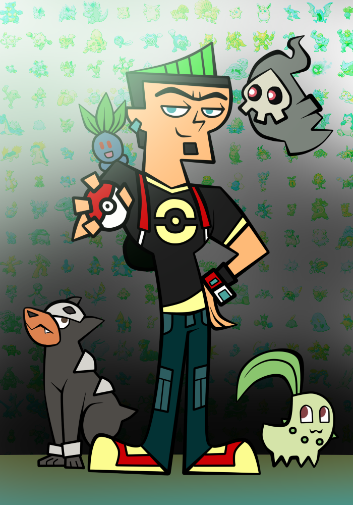 Duncan Pokemon Team by hielorei