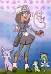 Courtney Pokemon Team