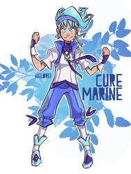 Male Cure Marine by hielorei