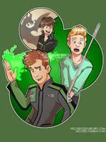 Green Rangers by hielorei