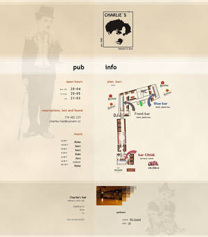 Charlie's Hat propagation website layout vol.1