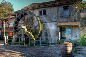 The Mill Wheel by RSMRonda