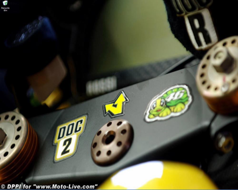 Valentino Rossi's M1 by Heather-Briana