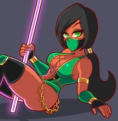 Jade - Mortal Kombat by Chemical-Bro