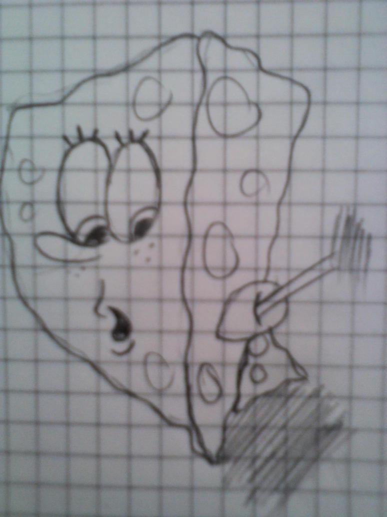 SpongeBob Sketch by mifer600