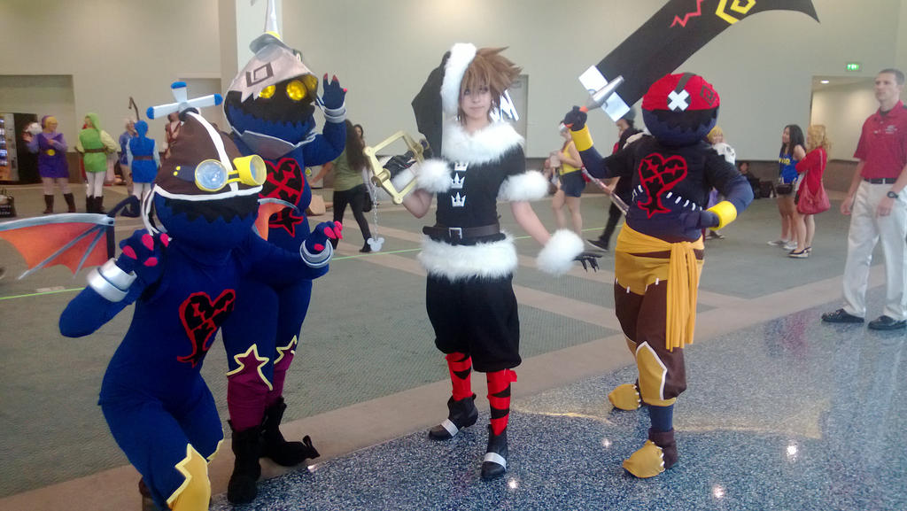 Heartless and Sora Anime Expo 2013 by neko-kitkat