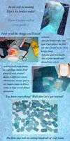 Elsa ice bodice tutorial