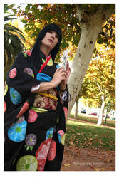 Enma Ai (Kimono)