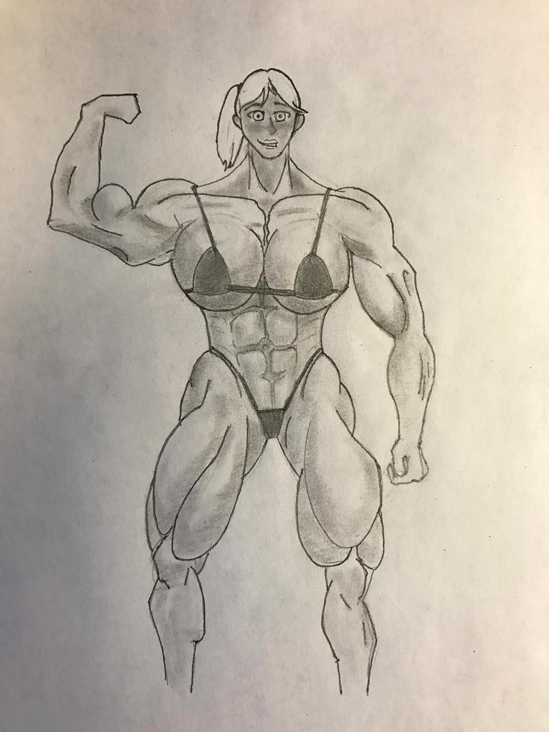 Muscle Girl #2 by Isildursbane