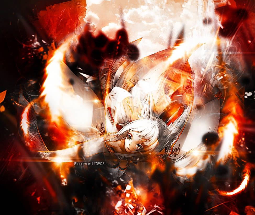 [21122016] Flaming blade