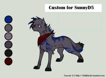Second Custom for SunnyD5