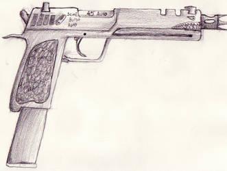 Concept handgun for 7K by Sevvy89