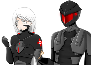 Ex Astris - Flashback Characters by Cera-L-Hendry